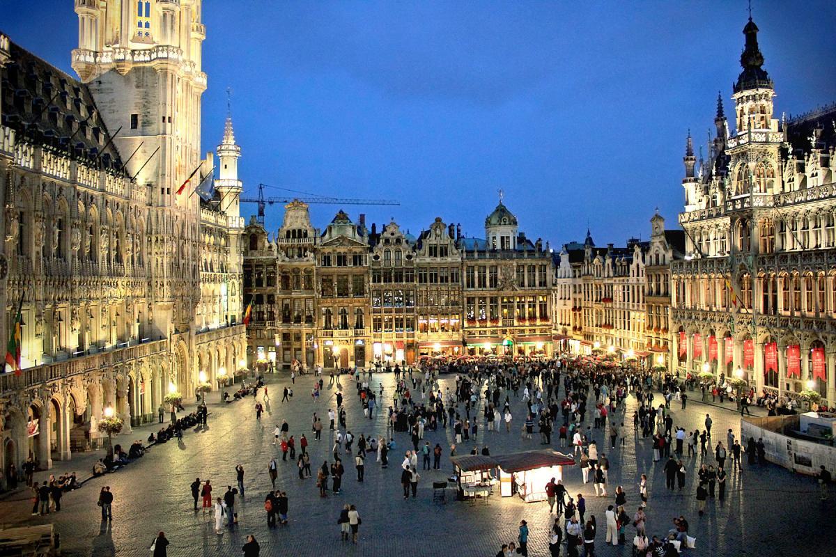 Visiter Bruxelles / La-Grand-Place