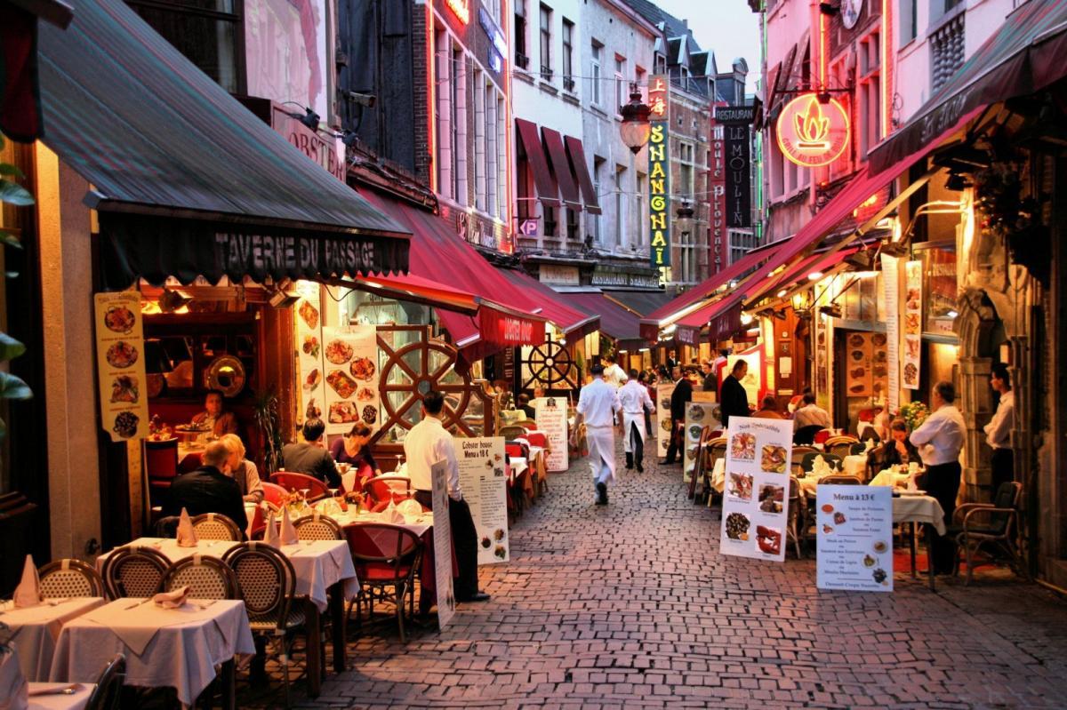 Visiter Bruxelles / Rue-Des-Bouchers