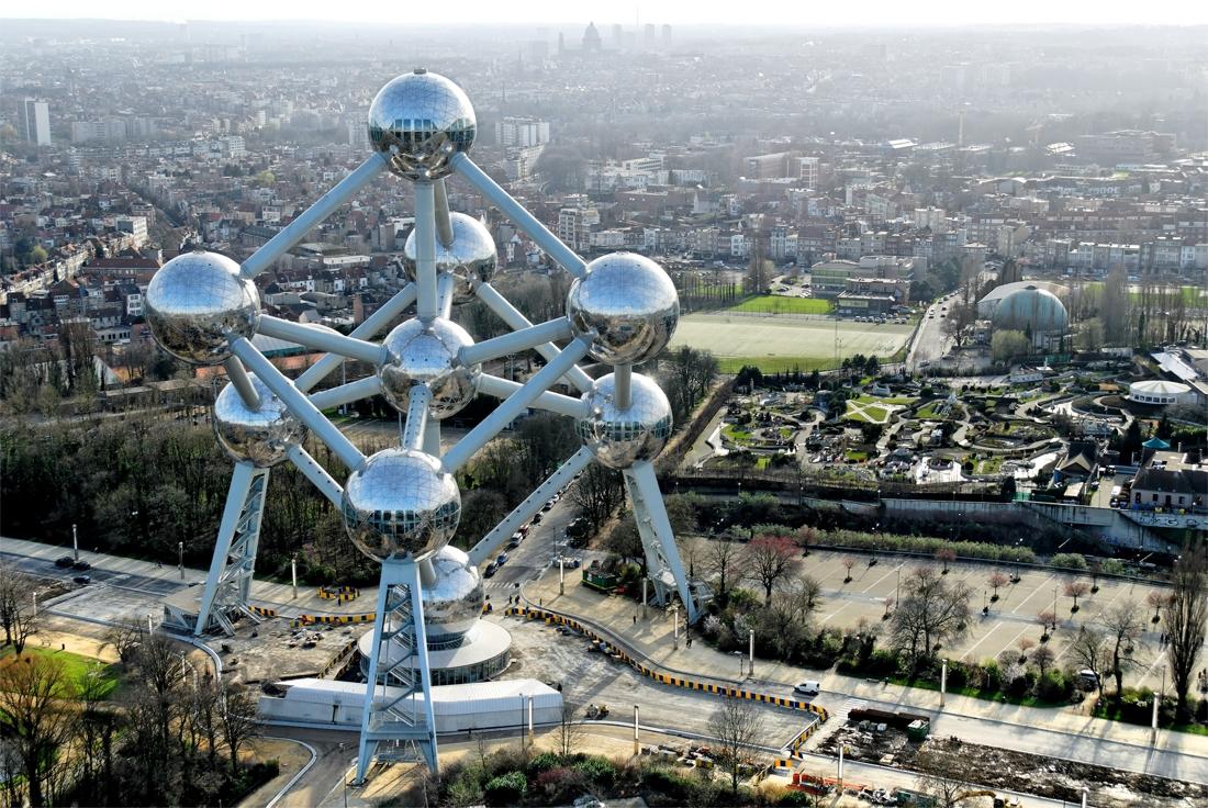 Visiter Bruxelles / L'Atomium