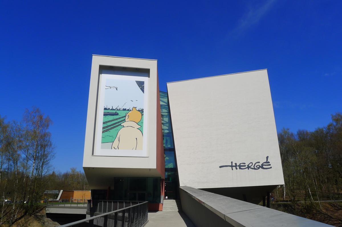 Visiter Bruxelles / Musée-Hergé